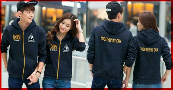 Jaket Couple Model Terbaru Desain Turn Back Crime (TBC) Unik & Murah