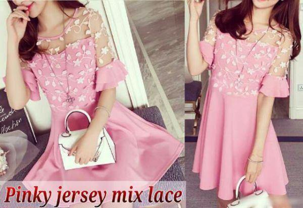 Model Baju Dress Pendek (Mini Dress) Simple Terbaru Cantik Murah