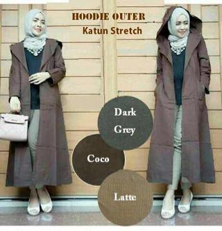 Model Cardigan Panjang (Long Cardi) Hoodie Cantik Terbaru