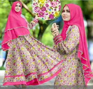 Model Gamis Syar'i Terbaru Busana Muslim Wanita Modern & Murah