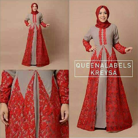 Model Gamis Terbaru Baju Muslim Wanita Modern Cantik & Murah