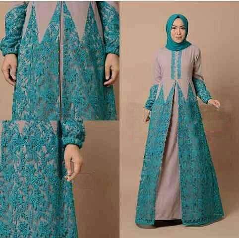 Model Gamis Terbaru Baju Muslim Wanita Modern Cantik Murah