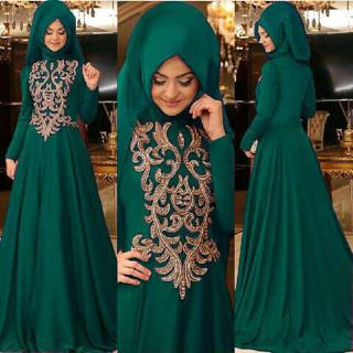 Model Gamis Terbaru Cantik & Modis Baju Muslim Wanita Modern