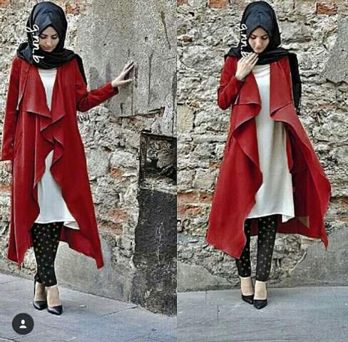 Setelan Hijab 4 in 1 Model Terbaru Baju Muslim Wanita
