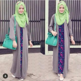 Setelan Hijab Modis Baju Muslim Wanita Modern Maxy & Long Cardigan