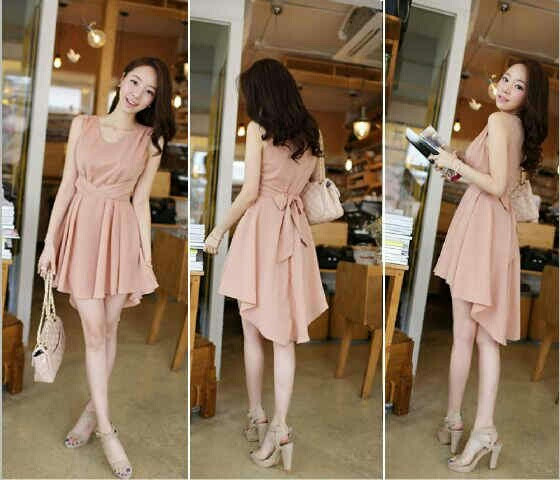 Baju Dress Pendek Model Mini Dress Simple Cantik Terbaru