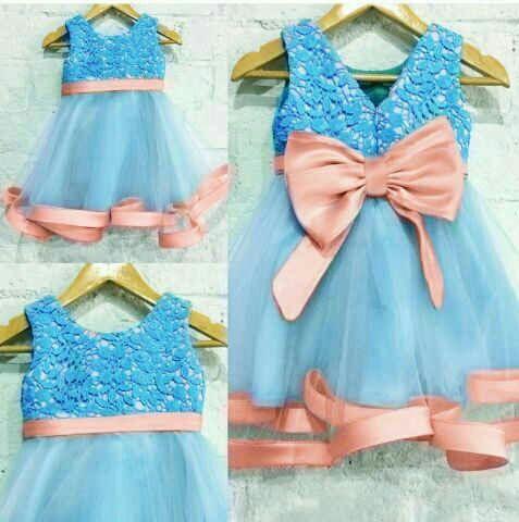 Baju Dress Pesta Anak Perempuan Lucu Cantik Model Terbaru