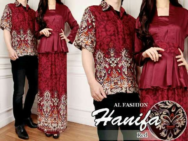 Baju Kebaya Batik Long Dress Couple Model Terbaru Modern