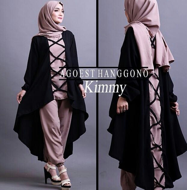 Baju Setelan Fashion Hijab Celana Modis Model Terbaru Modern