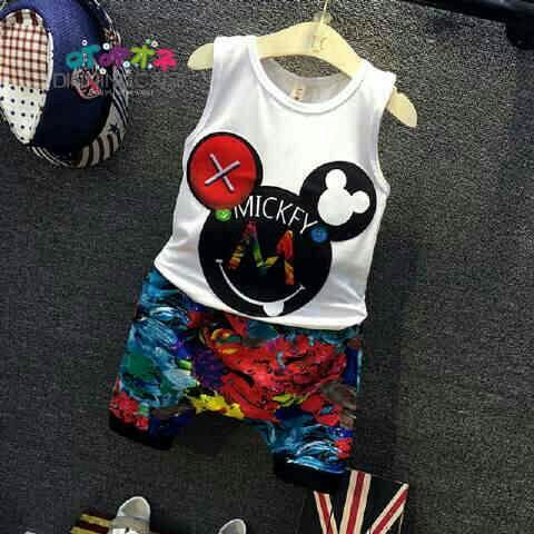 Model Baju & Celana Pendek Anak Laki-laki Keren Jaman Sekarang