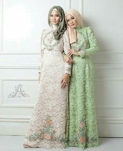 Kumpulan Model Hijab Gamis Brokat Terbaru 2019 Website Korpri Id