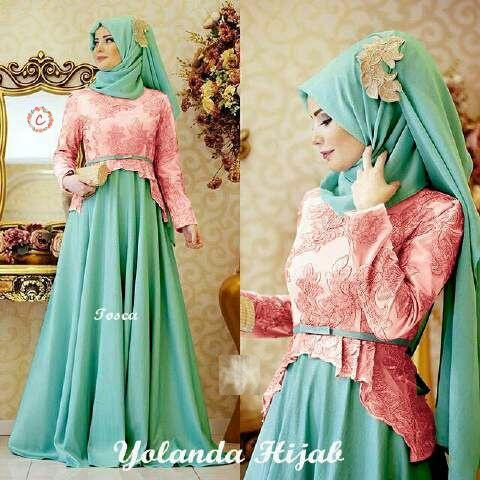Model Baju Gamis Setelan Muslimah Wanita Cantik Terbaru Ryn Fashion