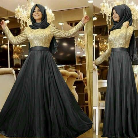 Model Baju Gamis Terbaru Setelan Hijab Muslim Wanita Modern