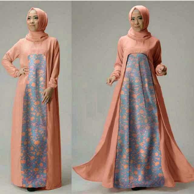 Model Baju Setelan Gamis Muslim Wanita Terbaru Dan Modern