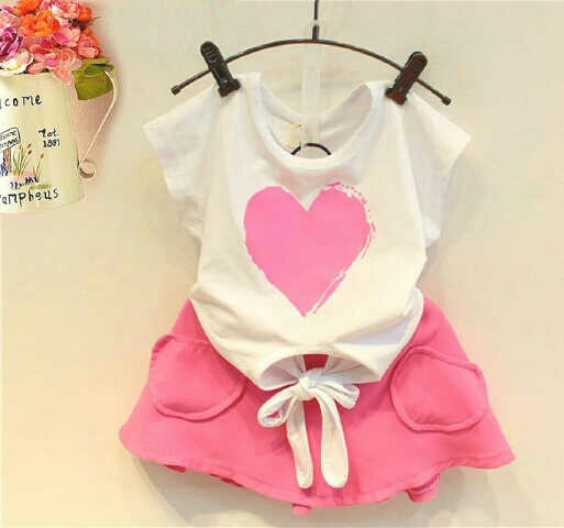 Model Baju Setelan Rok Mini Anak Perempuan Cantik Lucu Terbaru