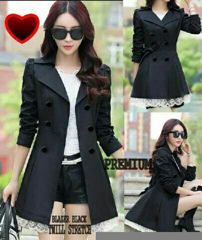 Model Blazer Coat Wanita Terbaru Cantik Modern & Murah