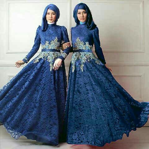 Model Gamis Terbaru Baju Setelan Fashion Hijab Terkini