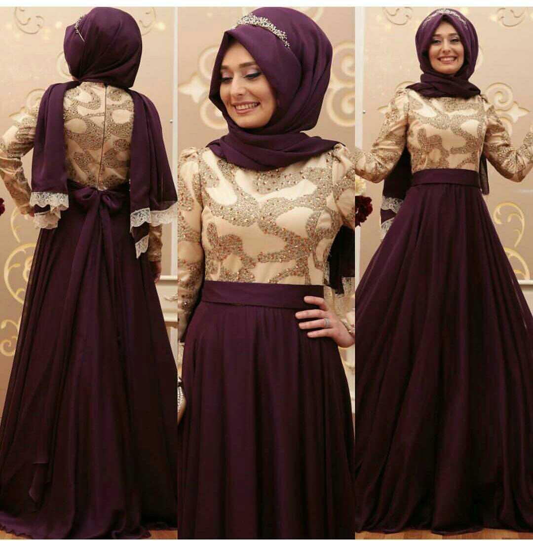 Model Gamis Terbaru Baju Setelan Hijab Wanita Modern Cantik  RYN