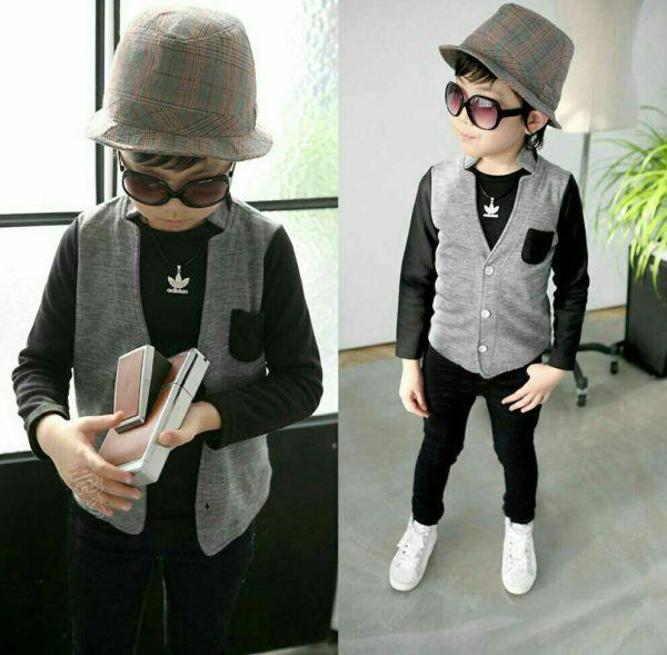 Setelan Baju Anak Laki-laki Keren Model Terbaru dan Modern