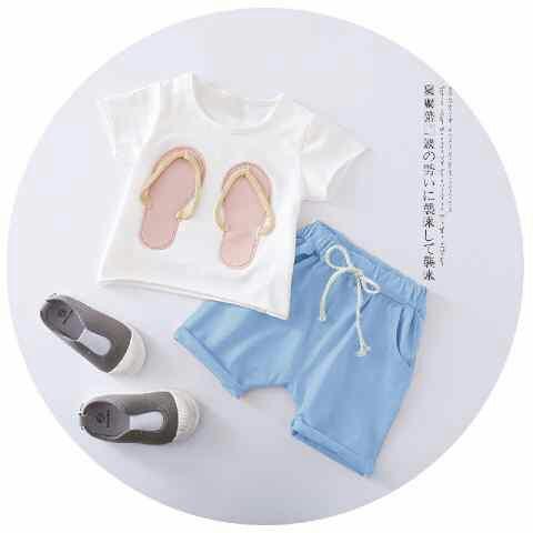Setelan Baju & Celana Pendek Anak Perempuan Model Terbaru