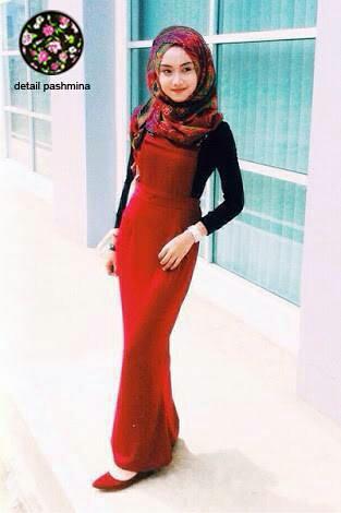 Setelan Baju Fashion Hijab Terbaru Jumpsuit Rok Kodok Overall Modern