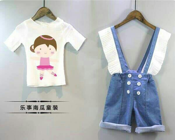 Baju Anak Perempuan Setelan Jumpsuit Anak Model Terbaru