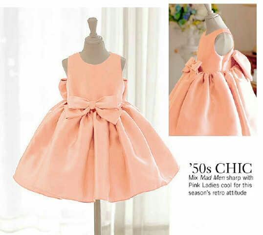 Baju Dress Pesta Anak Perempuan Desain Lucu Model Terbaru