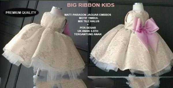 Baju Dress Pesta Anak Perempuan Lucu dan Murah Model Terbaru