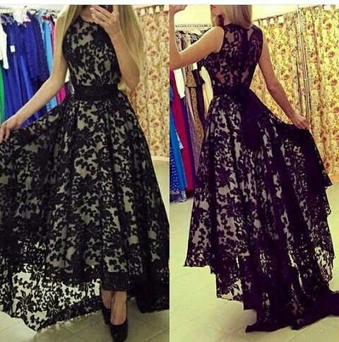 Baju Gaun Dewasa Long Dress Panjang Brukat Cantik dan Murah