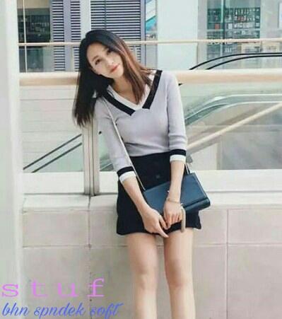 Baju Kaos Wanita Remaja Modern Cantik Model Terbaru