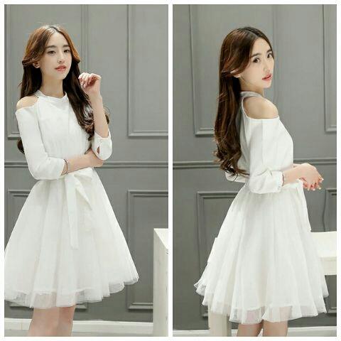 Baju Mini Dress Pendek Wanita Dewasa Simple Cantik Dan Unik