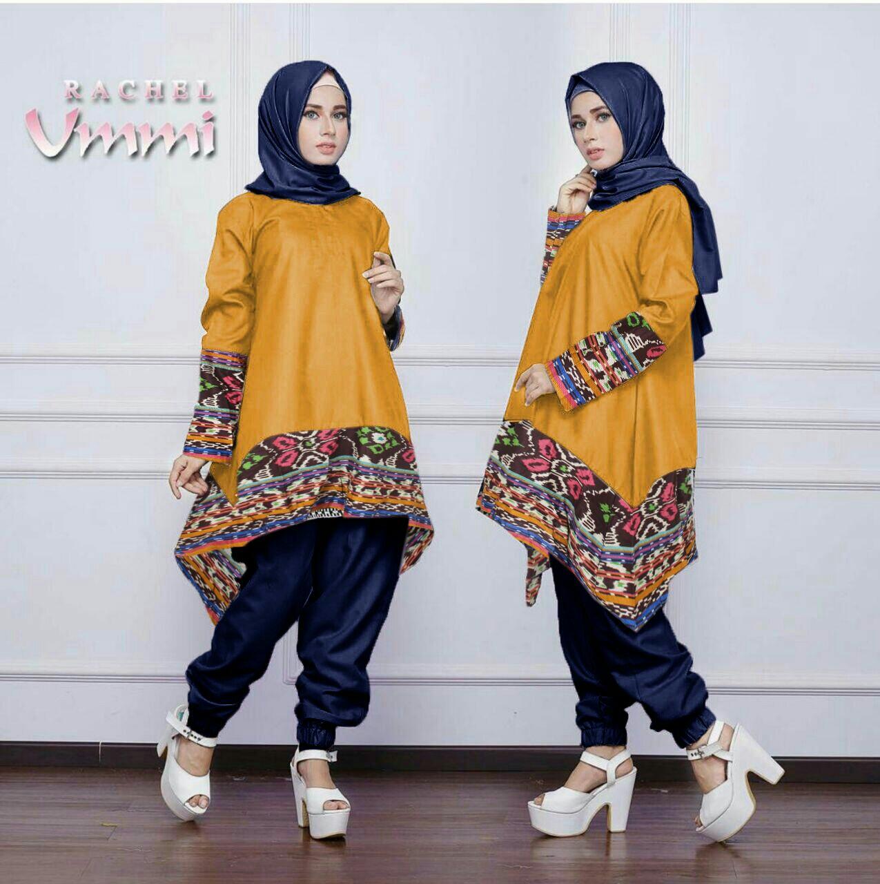 Baju Setelan Hijab Celana Modis Modern Dan Murah Model Terbaru Ryn