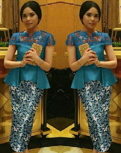 Baju Setelan Kebaya Modern Model Terbaru Cantik Murah