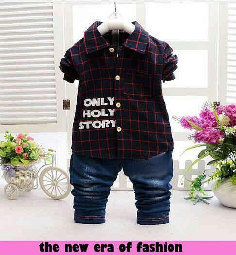 Model Baju Anak Laki-laki Setelan Keren Terbaru dan Murah