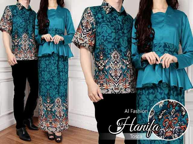 Model Baju Kebaya Long Dress Couple Batik Modern Terbaru