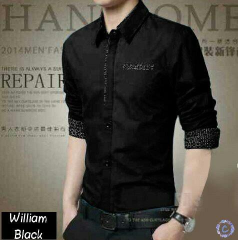 Model Baju Kemeja Pria Lengan Panjang Keren Murah Terbaru