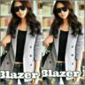 Model Blazer Wanita Cantik Terbaru Ala Korea Modern & Murah
