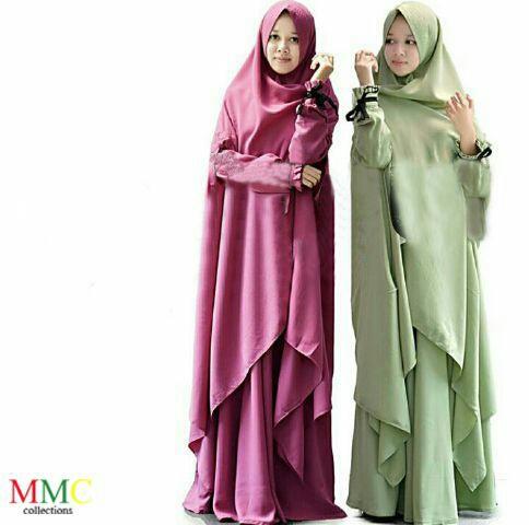 Model Hijab Syari Panjang