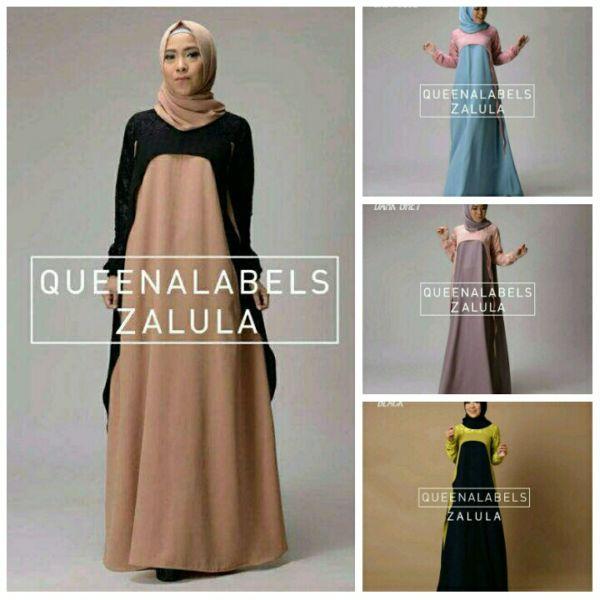 Model Gamis Terbaru Busana Setelan Hijab Cantik Modern
