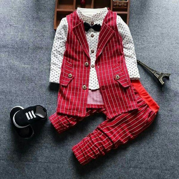 Setelan Baju Toxedo Anak Laki-laki Keren Model Terbaru