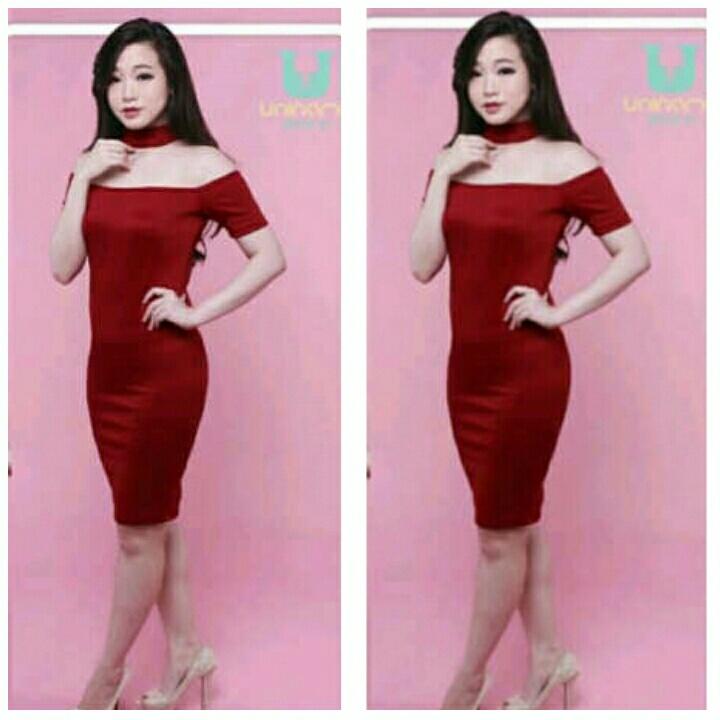 Baju Mini Dress Pendek Dewasa Cantik Model Sabrina Terbaru Ryn Fashion