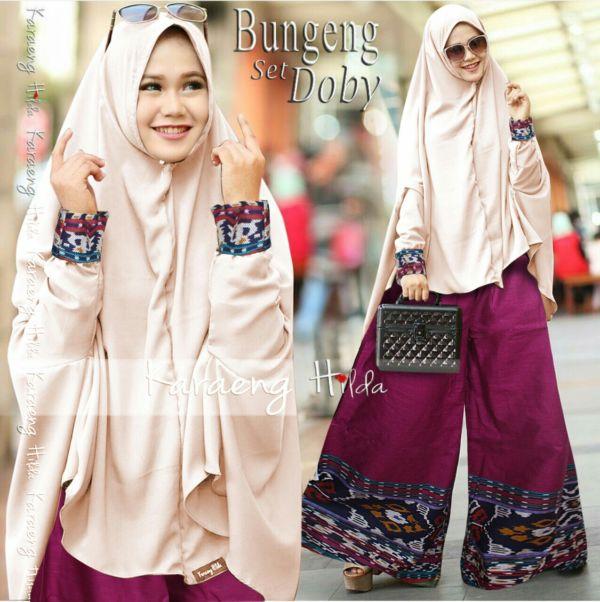 Baju Muslim Style Setelan Celana Kulot Hijab Model Terbaru