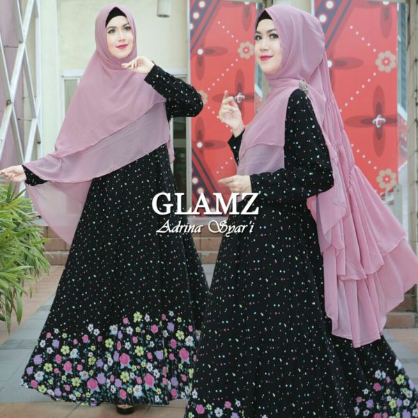 Baju Setelan Muslimah Wanita Modern Model Gamis Syari Terbaru