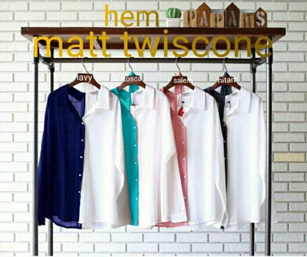 Model Baju Atasan Kemeja Wanita Terbaru Warna Kombinasi