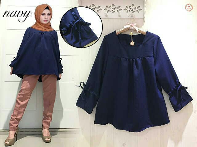 Lengan panjang cantik model terbaru jual anak abg cantik Foto baju gamis anak muda terbaru