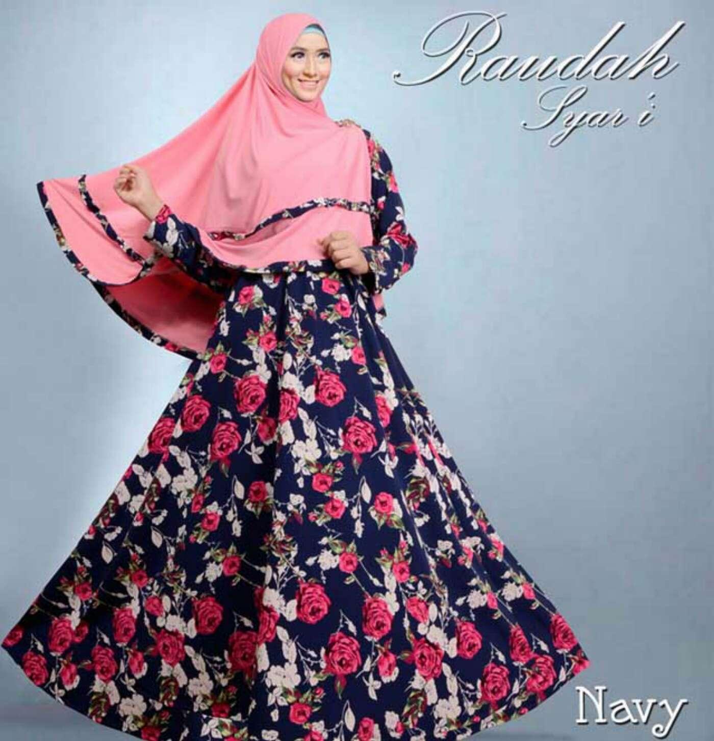 Inilah Busana Muslim Kain Kaos 28 Images Model Gamis