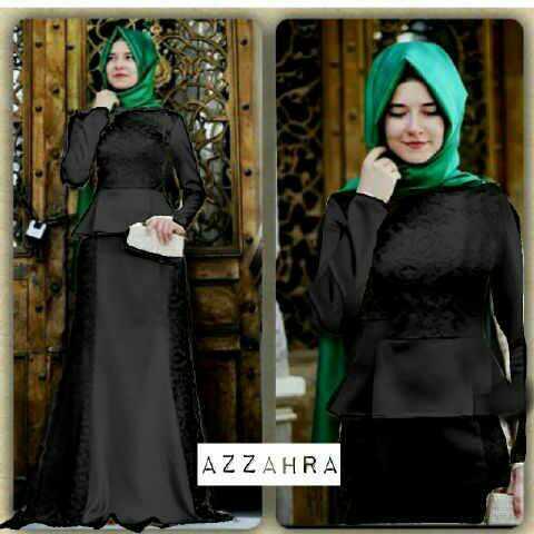 Model Gamis Terbaru Baju Long Dress Muslimah Cantik Modern