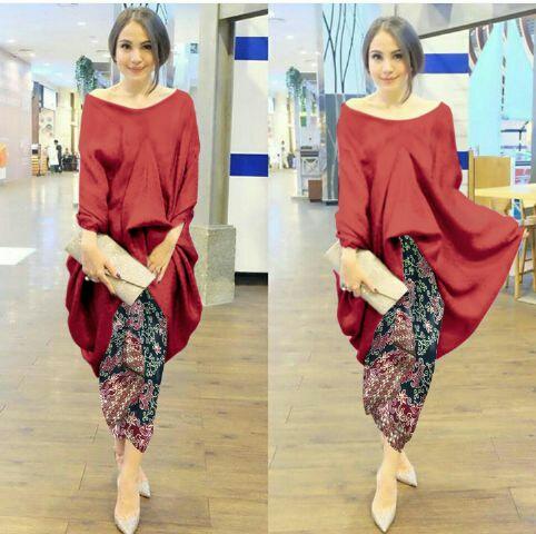 Model Setelan Rok Batik dan iBajui Kebaya Cantik Modern