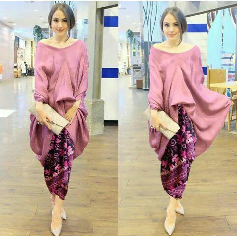 Model Setelan Rok Batik dan Baju Kebaya Cantik Modern Terbaru