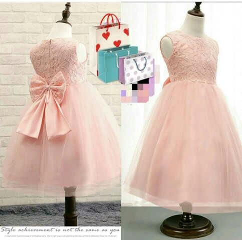 Baju Dress Pesta Anak Perempuan Murah dan Cantik